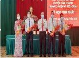 Ông Bùi Quốc Bảo được bầu giữ chức vụ Chủ tịch HĐND huyện Tân Thạnh