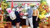 Nhiều cơ quan, đoàn thể, doanh nghiệp chúc mừng Báo Long An nhân Ngày Báo chí cách mạng Việt Nam