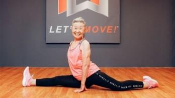 Kinh ngạc cụ bà làm huấn luyện viên thể hình ở tuổi 90