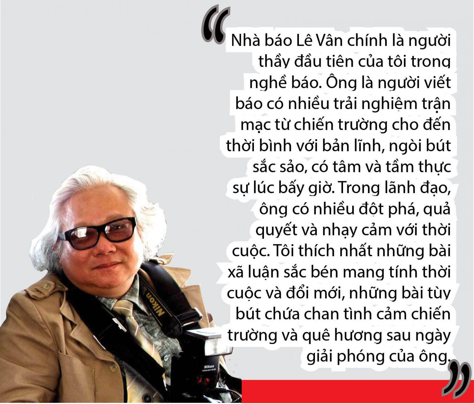 Nhà báo cách mạng Lê Vân: Làm báo từ cái tâm, tầm và tài (Kỳ II)