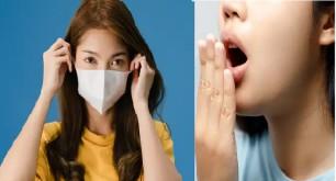 Để hơi thở không có mùi khó chịu khi đeo khẩu trang thời gian dài
