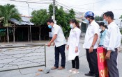 Gỡ khoanh vùng cách ly y tế tại ấp 3, xã Tân Thành