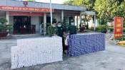 Đồn Biên phòng Sông Trăng: phát hiện 9.000 gói thuốc lá ngoại