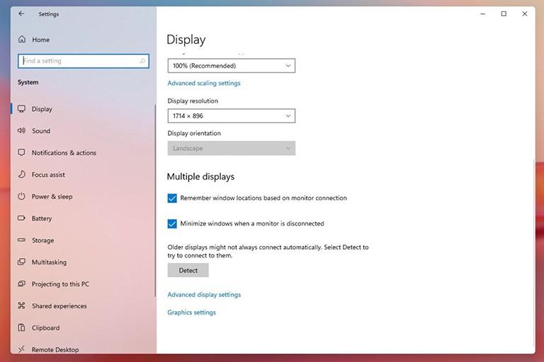 Người dùng đa màn hình sẽ được hưởng lợi bởi tính năng mới từ Windows 11. ẢNH CHỤP MÀN HÌNH