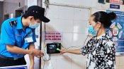 Quản lý người ra vào bằng ứng dụng quét vân tay tại Bệnh viện Đa khoa Long An