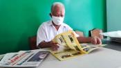 Cựu chiến binh trên 40 năm sưu tầm báo cũ