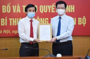 Ông Nguyễn Quang Trường giữ chức Phó Bí thư Đảng ủy Khối các cơ quan Trung ương
