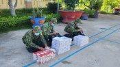 Đồn Biên phòng Cửa khẩu Quốc tế Bình Hiệp phát hiện, thu giữ 2.000 gói thuốc lá ngoại
