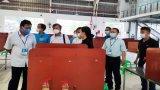 Phó Chủ tịch UBND tỉnh Long An - Phạm Tấn Hoà kiểm tra công tác phòng dịch tại Cty Chingluh