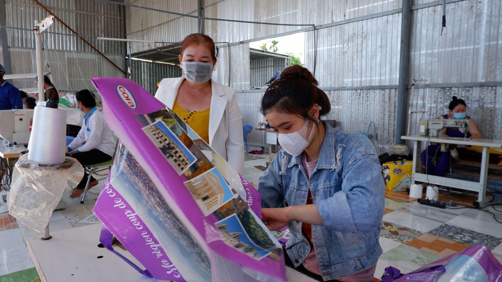 Hợp tác xã Tường Xuyên góp phần giải quyết việc làm cho lao động nhàn rỗi ở địa phương
