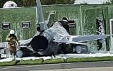 Máy bay chiến đấu F-16 của Bỉ đâm vào nhà khi cất cánh ở Hà Lan