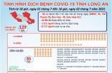 Tình hình dịch bệnh Covid-19 trên địa bàn tỉnh Long An đến 18 giờ ngày 2/7