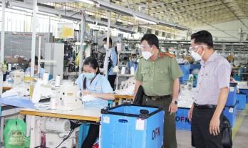 Thống nhất cho các chuyền may, chuyền thành hình Công ty TNHH Samduk Việt Nam hoạt động trở lại