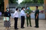 Phó Chủ tịch UBND tỉnh – Phạm Tấn Hòa kiểm tra Kỳ thi tốt nghiệp THPT tại Tân An