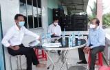 Kiểm tra tình hình tiêu thụ nông sản trên địa bàn huyện Cần Giuộc