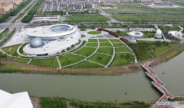 Toàn cảnh Bảo tàng Thiên văn học lớn nhất thế giới. (Nguồn: Tân hoa xã)
