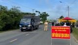 Bảo đảm trật tự, an toàn giao thông tại cửa ngõ giáp ranh, chốt kiểm dịch