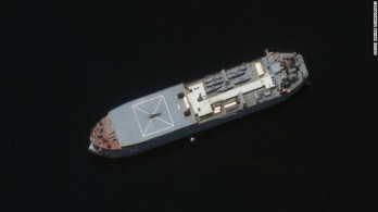 Tàu chiến Iran xuất hiện ở biển Baltic, trên đường tới Nga