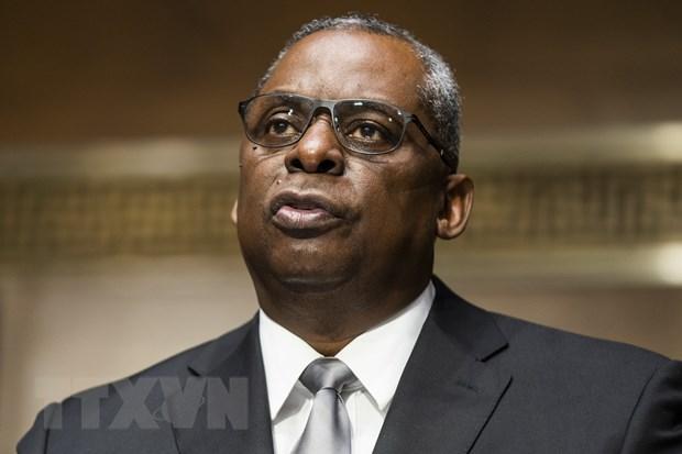 Ngài Lloyd Austin, Bộ trưởng Quốc phòng Hợp chúng quốc Hoa Kỳ. (Ảnh: THX/TTXVN)