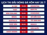 Lịch thi đấu bóng đá Olympic Tokyo 2020 hôm nay 25/7: Brazil dễ thở, Nhật gặp đối cứng