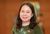 Bà Võ Thị Ánh Xuân tiếp tục giữ chức Phó Chủ tịch nước