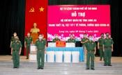 Bộ CHQS tỉnh Long An tiếp nhận trang thiết bị, vật tư y tế trong phòng, chống dịch Covid-19