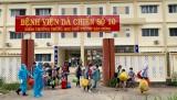 Tân Hưng: Bệnh viện dã chiến số 10 có 108 bệnh nhân Covid-19 xuất viện