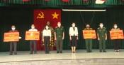 Thiếu tướng Nguyễn Văn Nam hỗ trợ xây dựng 5 căn nhà tình nghĩa quân - dân tại Đức Hòa