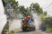 Bộ Chỉ huy Quân sự tỉnh: Huy động tổng lực khử khuẩn tại huyện Đức Hòa