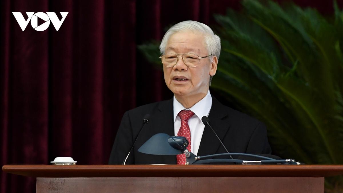 Tổng Bí thư Nguyễn Phú Trọng. Ảnh: Ngọc Thành.
