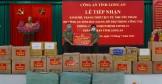 Công an tỉnh Bắc Giang hỗ trợ Công an tỉnh Long An trong công tác phòng, chống dịch bệnh Covid-19