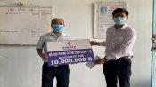 Ngành điện Long An ủng hộ Quỹ phòng, chống dịch bệnh Covid-19