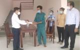 Phó Chủ tịch UBND tỉnh - Nguyễn Minh Lâm thăm, tặng quà lực lượng phòng, chống dịch Covid-19