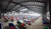 Long An: Bệnh viện dã chiến 1.500 giường đi vào hoạt động