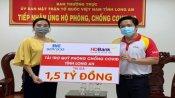 HDBank Long An trao 3 tỉ đồng cho Quỹ Phòng, chống Covid-19