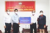 UBMTTQ Việt Nam tỉnh Long An kêu gọi toàn dân tình nguyện tham gia vào các lực lượng phòng, chống dịch