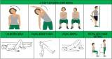 Bài tập giúp phục hồi chức năng cho bệnh nhân COVID-19