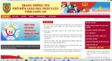 Long An chính thức vận hành Trang thông tin điện tử phổ biến giáo dục pháp luật với tên miền: pbgdpl.longan.gov.vn