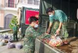 Bộ Chỉ huy Quân sự tỉnh Long An: Tiếp nhận trên 10 tấn rau, củ, quả