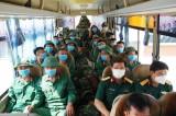 Bộ Chỉ huy Quân sự tỉnh xuất quân hỗ trợ địa phương phòng, chống dịch Covid-19