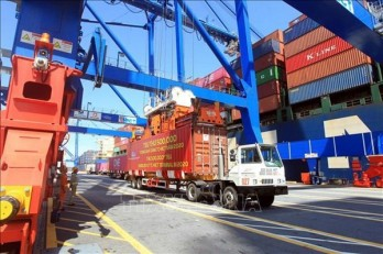 Container cargo via seaports sees double-digit growth