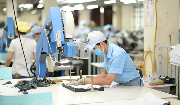 Vietnam's garment exports are ranked among the world's top three (Photo: VNA)