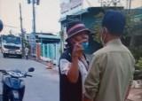 Người đàn ông gây rối, chửi bới tại chốt kiểm dịch bị xử phạt