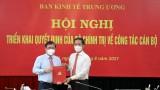 Trao quyết định của Bộ Chính trị điều động ông Nguyễn Thành Phong