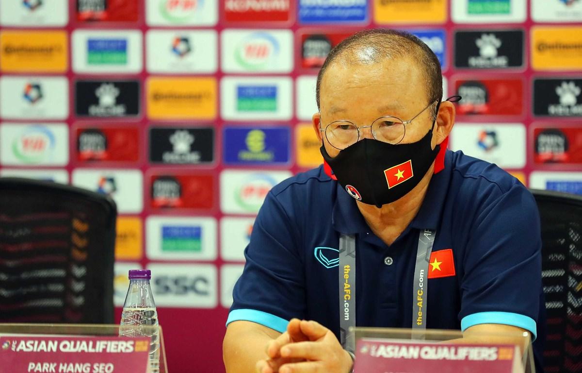 Huấn luyện viên Park Hang-seo cho rằng tuyển Việt Nam đã có thể ghi thêm bàn trước Saudi Arabia. (Ảnh: VFF)