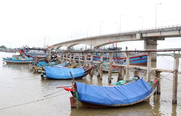 Fishing vessels in Quang Tri (Photo: VNA)