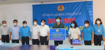 Long An Trade Union: Workers supported to overcome Covid-19 pandemic