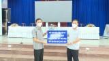 Chủ tịch UBND tỉnh – Nguyễn Văn Út kiểm tra công tác phòng, chống dịch Covid-19 tại huyện Đức Hòa