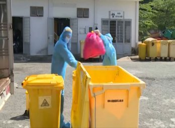 Tăng cường công tác bảo vệ môi trường tại các cơ sở điều trị bệnh nhân nhiễm Covid-19