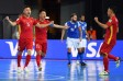 Đội trưởng tuyển futsal Việt Nam: 'Tỷ số 1-9 phản ánh đúng trận đấu'